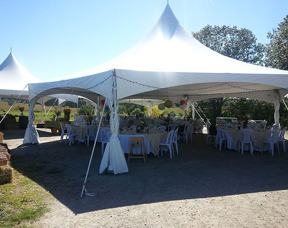 40' Hexagonal Tent