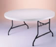 Table ronde 6 pieds