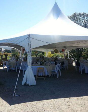 40' Hexagonal Tent